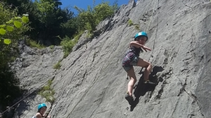 escalader falaise Pyrénées 64