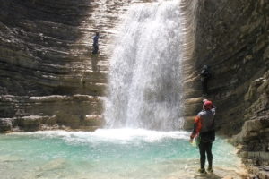 canyoning val Tena Espagne