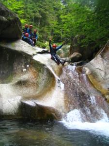 Canyoning vallée d'Ossau Béarn